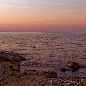 by Monish Majumdar - Uncategorized All Uncategorized ( canon, water, 24-105mm, ohio, sunset, erie, lake, beach, 6d, evening, cleveland )