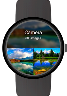 Photo Gallery for Android Wear- screenshot thumbnail