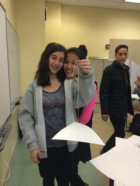 9th grade Centroid Activity by Frisch math teacher Debbie Stein