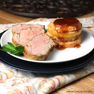 Pork Tenderloin with Chipotle Apricot Glaze