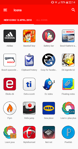 Screenshot for OXYGEN - ICON PACK in Hong Kong Play Store