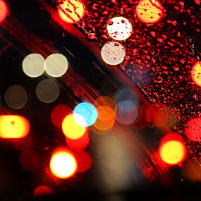 The driving light by Adi Krishna - Abstract Light Painting