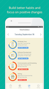 RescueTime Time Management and Digital Wellness Screenshot