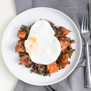 Beef and Sweet Potato Hash