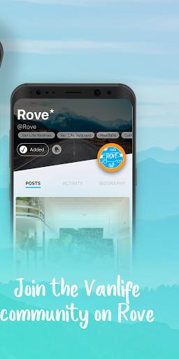 rove: a vanlife community screenshot 2