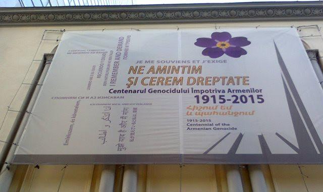 Armenian events at the Armenian church in Bucharest