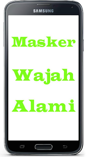 Masker Wajah Alami 1.1 screenshots 2