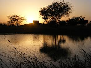 Photo: Sunset at Blackbuck Lodge