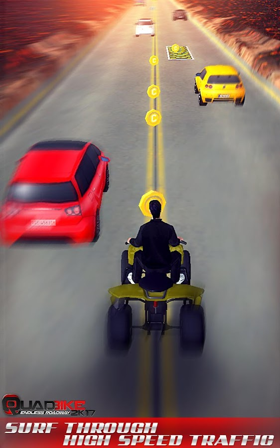 Quad Bike Endless Roadway 2017- screenshot