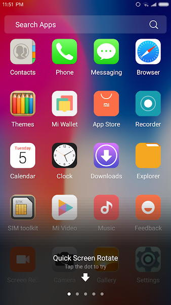 X Launcher Pro: PhoneX Theme, IOS Control Center- screenshot