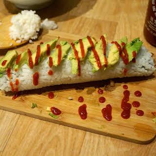 Shrimp Tempura Sushi.