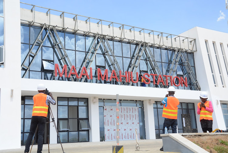 The Mai Mahiu SGR terminus in Naivasha is complete, but several families have not been compensated.