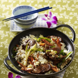 Pork with Fried Rice.