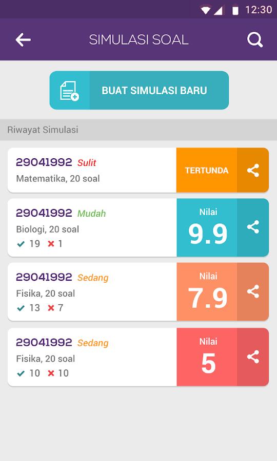 Kumpulan Soal Ujian Masuk Ptn Android Apps On Google Play