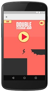 JumpGame Double -2Stickman, 2Screens -Against time - náhled