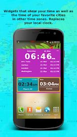 Bob's World Clock Widget Screenshot 1