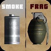 Smoke Grenade & Fragmentation Grenade in 3D