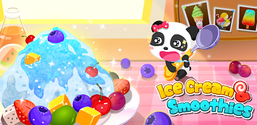 Ice Cream & Smoothies - Educational Game For Kids APK