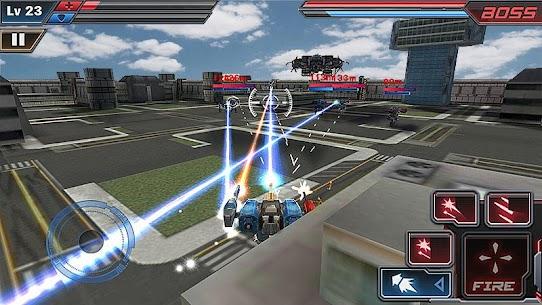 Ataque de Robot 3D 4