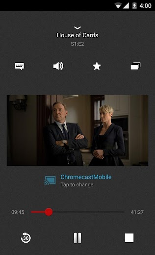 Screenshot 4 for Netflix's Android app'