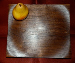 Photo: black walnut server
