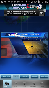 Hurricane Tracker WYFF 4- screenshot thumbnail