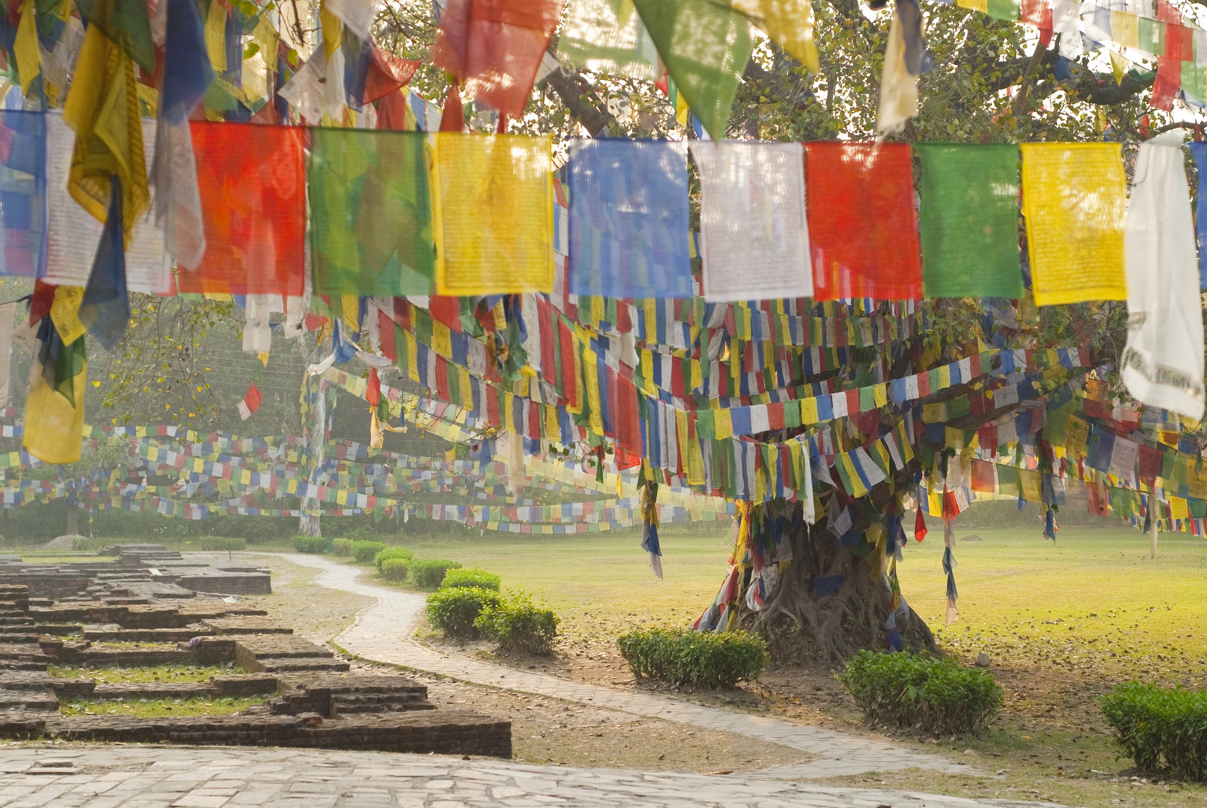 Change is apace in sleepy Lumbini