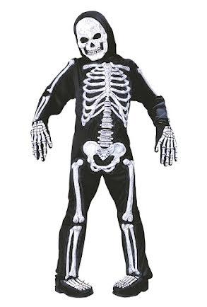 Barndräkt, Skelett 3D