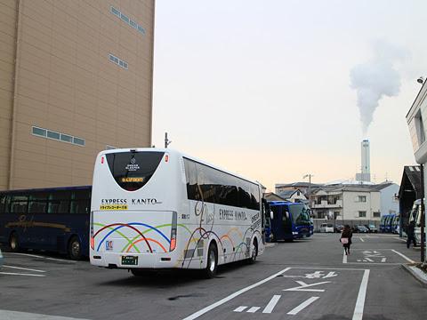 関東バス「ドリームスリーパー東京大阪号」 ・・・1 両備バス門真車庫にて その4