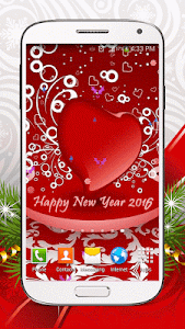 New Year Live Wallpaper HD screenshot 1