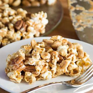 Peanut Pecan Popcorn Pie