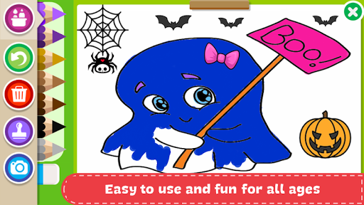 Halloween Coloring Book Apps Apk Free Download For Android PC Windows Screenshot