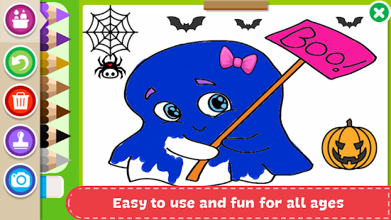 Download Halloween Coloring Book For PC Windows And Mac Apk Screenshot 19
