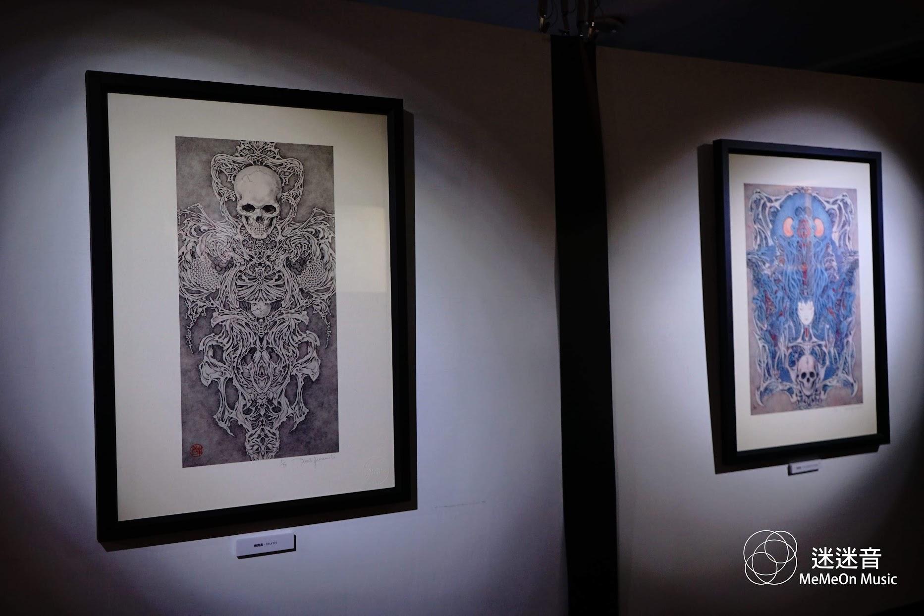 【迷迷現場】DIR EN GREY、MUCC CD封面繪師 山本タカト 台灣個展僅到4/8