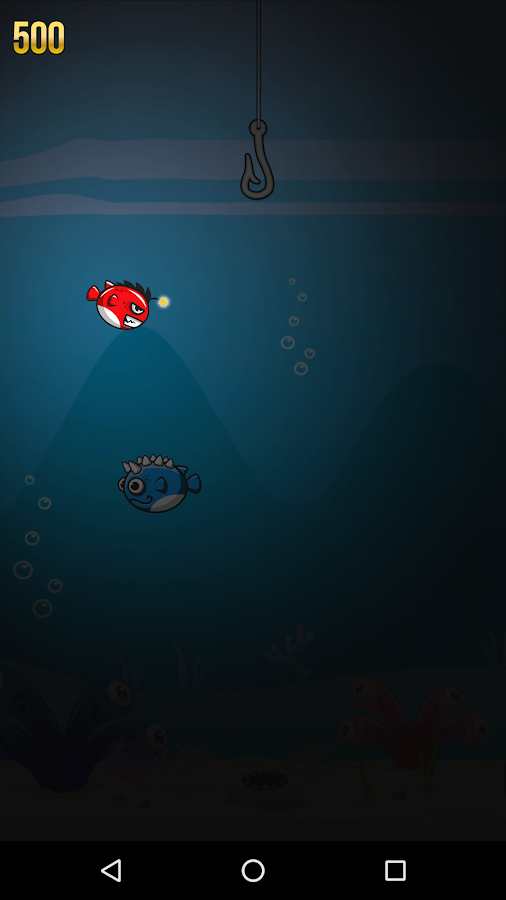 Bubble Fish in Darkness- screenshot