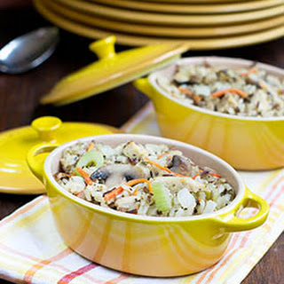 Made-Over Chicken Wild Rice Casserole.