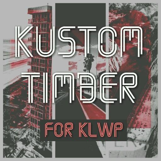 Kustom Timber for KLWP