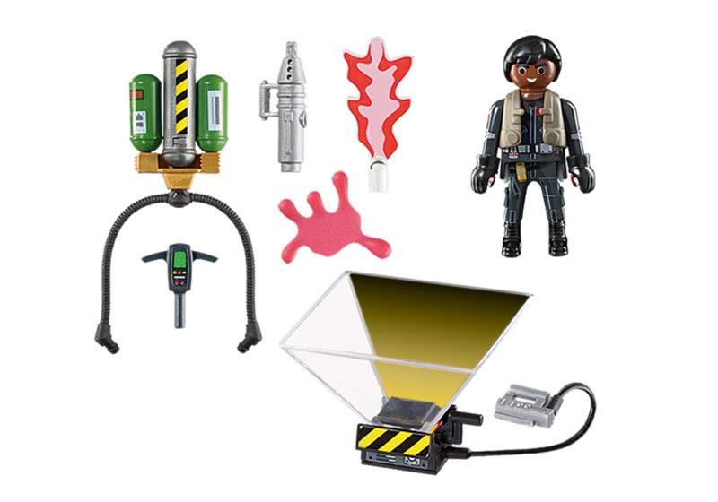 Contenido real de Playmobil® 9349 Cazafantasmas Winston Zeddemore