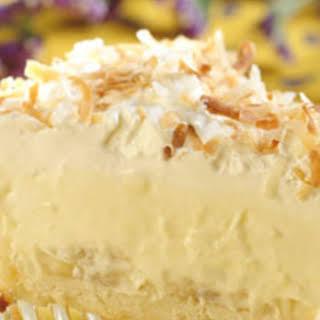 Easy Coconut Banana Cream Pie.
