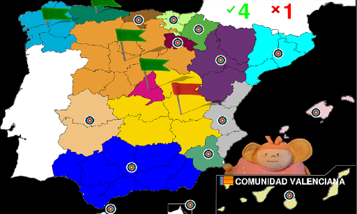 a description of the geography of spain