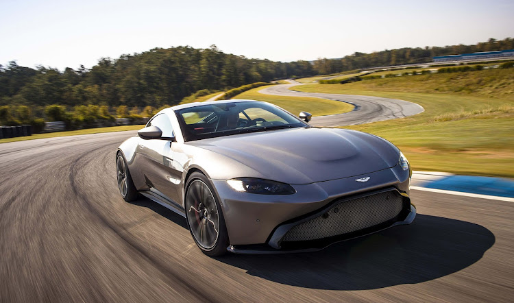 Aston Martin has made a radical design change for its new Vantage