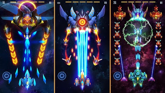 Galaxy Invaders: Alien Shooter MOD APK (Unlimited Money) 2