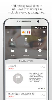 Fuel Rewards® program - screenshot