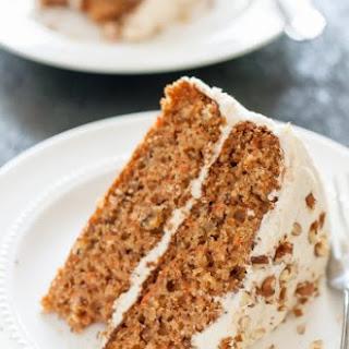 Gluten Free Dairy Free Decadent Carrot Cake.