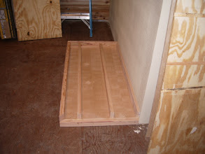 """Photo: The storage sits 2"""" off the floor."""