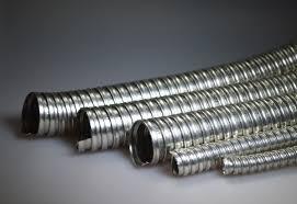 Гофрированный металлорукав для проводов
