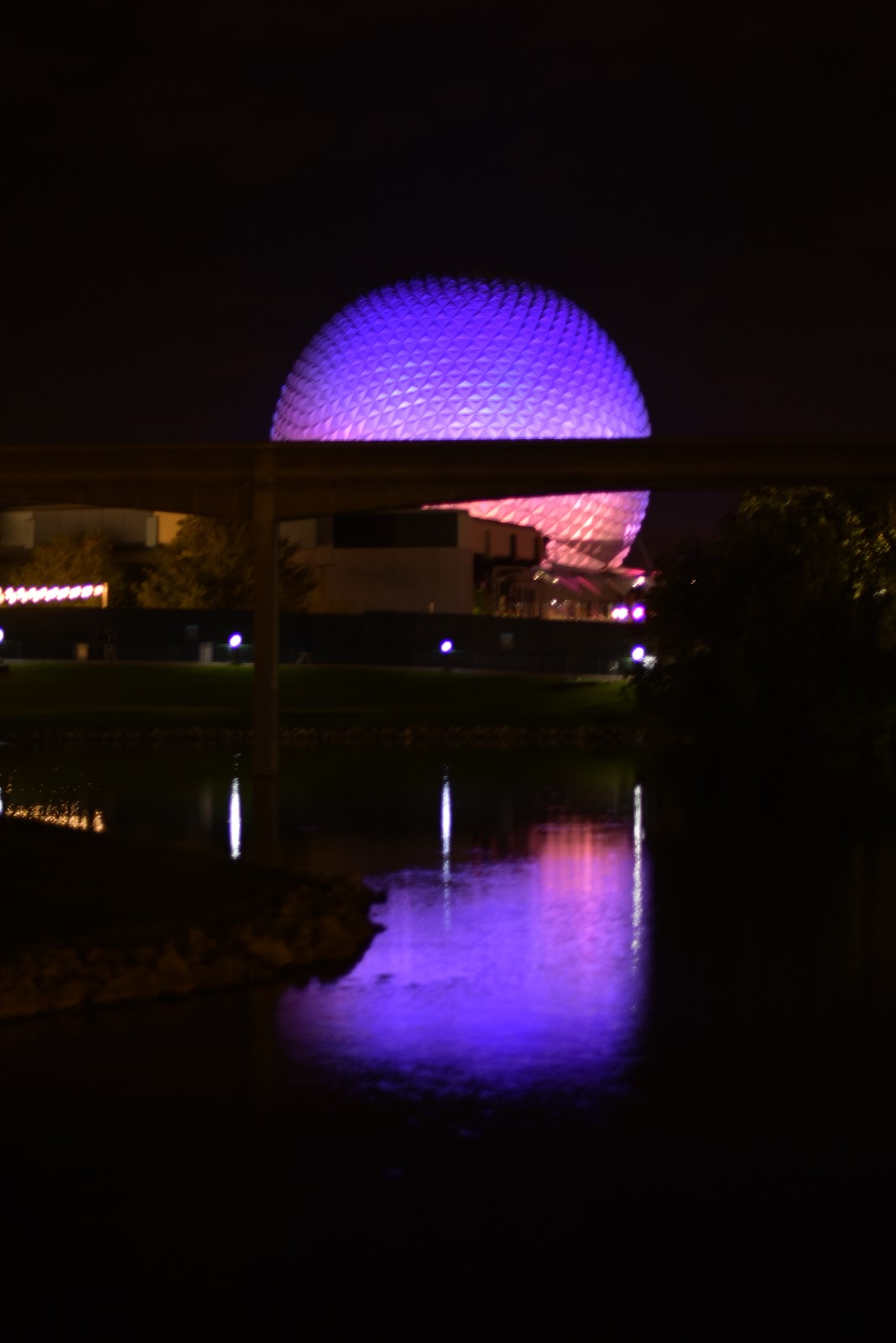 Refurbished Spaceship Earth