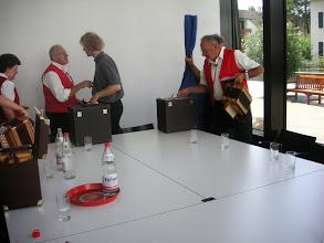 Photo: Verabschiedung. Ein toller Event beim Seiorenessen in Reinach geht zu Ende. Dankeschön an die Organisatoren. Wir kommen gerne wieder.
