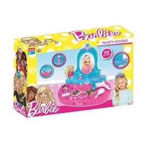 Cutie pentru bijuterii cu 10 accesorii, 58x12x39 cm, Barbie