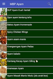 Menu Buka Puasa Ayam - náhled